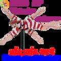 "21854  Victorian Swimmer 20"" , Whirligig (21854)"
