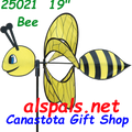 """25021 Bee 19""""   Petite & Whirly Wing Spinner 25021"""