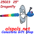 """25023  Dragonfly 25""""    Petite & Whirly Wing Spinner 25023"""