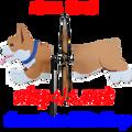 25081 Dog (Corgi) : Petite & Whirly Wing Spinner (25081)