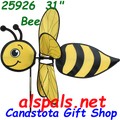 "25926  Bee 31""   Bug Spinners (25926)"