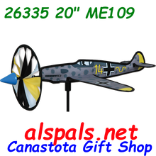 """26335 ME 109 20"""" : Airplane Sspinner (26335)"""
