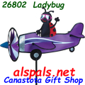 "26802 LadyBug 19"""" ,  Pilot Pal airplane spinner (26802)"