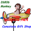 "26806 Monkey 19"""" ,  Pilot Pal airplane spinner (26806)"