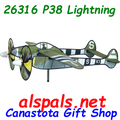 "26316 P-38 Lightning 27"" : Airplane Spinners (26316)"