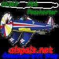 "26317  P-26 Peashooter 25"" : Airplane Spinners (26317)"