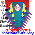 53212  Progressive Banner - Flame ( Rainbow ) (53212)