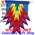 52776  Feather Banner - Flash (52776)