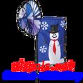 Snowman : Triple Spin Banner (25825)