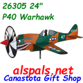 "26305 P-40 Warhawk 24"" : Airplane Spinners (26305)"