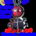 22721  Ladybug : Ball Spinners (22721)