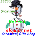 22722  Snowman : Ball Spinners (22722)