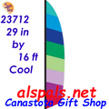 23712  Cool ( Ripstop ) Feather Banner (23712)