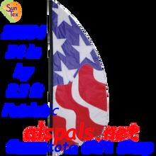 23884   Patriotic 8.5ft : Prestige Feather Banner (23884)