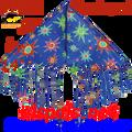 """17121  Delta Fringe """"Starburst """" : Fun Flyer (17121)"""