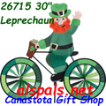 "26715  Leprechaun 30""   Bicycle Spinners (26715)"