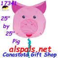 "17341  Animal ""Pig "" : Fun Flyer (17341)"
