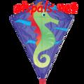 """Sheldon Seahorse:  Diamond 25"""" Kites by Premier"""