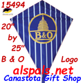 "15494  B & O Logo: Diamond 25"" Kites by Premier (15494)"