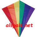 "15408  Rainbow: Diamond 30"" Kites by Premier (15408)"