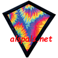 "Tie Dye: Diamond 30""  Kites by Premier"