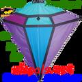 "15512  Amethyst: Diamond 65"" Diamonds Kites by Premier (15512)"