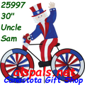 "25997 Uncle Sam 30""   Bicycle Spinners (25997)"