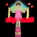 Bella Ballerina : Large Easy Flyer (44172) Kite