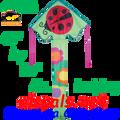 44126   Ladybug ( Ms. ): Large Easy Flyer Kites by Premier (44126)
