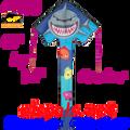 44175   Shark ( Crusher ): Large Easy Flyer Kites by Premier (44175)