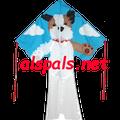 Terrier ( Tucker ) : Large Easy Flyer (44184) Kite