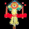 Lion ( Leo ) : Large Easy Flyer (44173) Kite