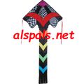 44053  Op-Art ( Rainbow ): Large Easy Flyer Kites by Premier (44053)