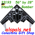 "33193  Stealth Bomber   : Delta 56"" (33193)"