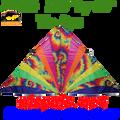 33224  Tie Dye: Delta 11 ft Kites by Premier (33224)