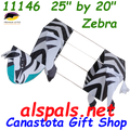 11146  Zebra : Animal (11146) Kite