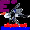 "25112  Heron (Blue) 42""    Bird Spinners (25112)"
