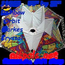 11069  Orbit ( Rainbow ) :Clarke's Crystal Box (11069) Kite