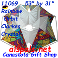 11069  Orbit ( Rainbow ) :Clarke's Crystal Box (11069) Kite
