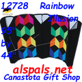 Rainbow Illusion: Power Sled Kite 24 by Premier