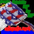12049  Patriotic : Parafoils 7.5 (12049) kite