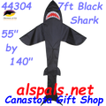 Shark (Black) 7 ft.: Sea Life Kite by Premier