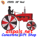 "25951 Old Tractor Red 38"" : Tractor Spinners (25951)"