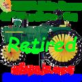 """25982 John Deere Vintage Tractor 43"""" : Tractor spinner (25982)"""