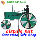 "25952 Old Tractor Green 38"": Tractor Spinners (25952)"