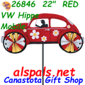 "26846  22"" Red VW Hippie Mobile: Vehicle Spinners (26846)"