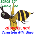 """25908 Bee (Bumble) 35""""    Bug Spinners (25908)"""