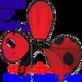 "25332  Ladybug 36""    Bug Spinners (25332)"