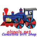 "Steam Engine 32"" Train Spinners (25653)"