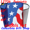 12706  Patriotic: Power Sled Kite 14 by Premier (12706)